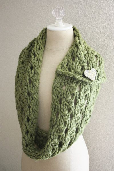 Margeaux Lace Cowl Scarf Knitting Pattern Knitting Fun