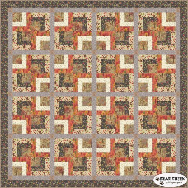 Www Bearcreekquiltingcompany Com Shop Product Autumn In Bluebell Wood Ii Free Quilt Pattern With Images Quilt Patterns Free Quilt Patterns Free Quilting