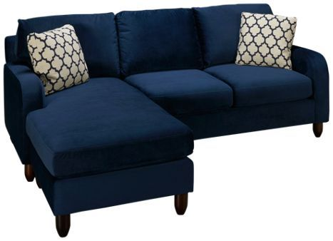 For Living Room: Max Home Sorrento Max Home Sorrento 2 Piece Sofa With  Chaise Ottoman   Jordanu0027s Furniture