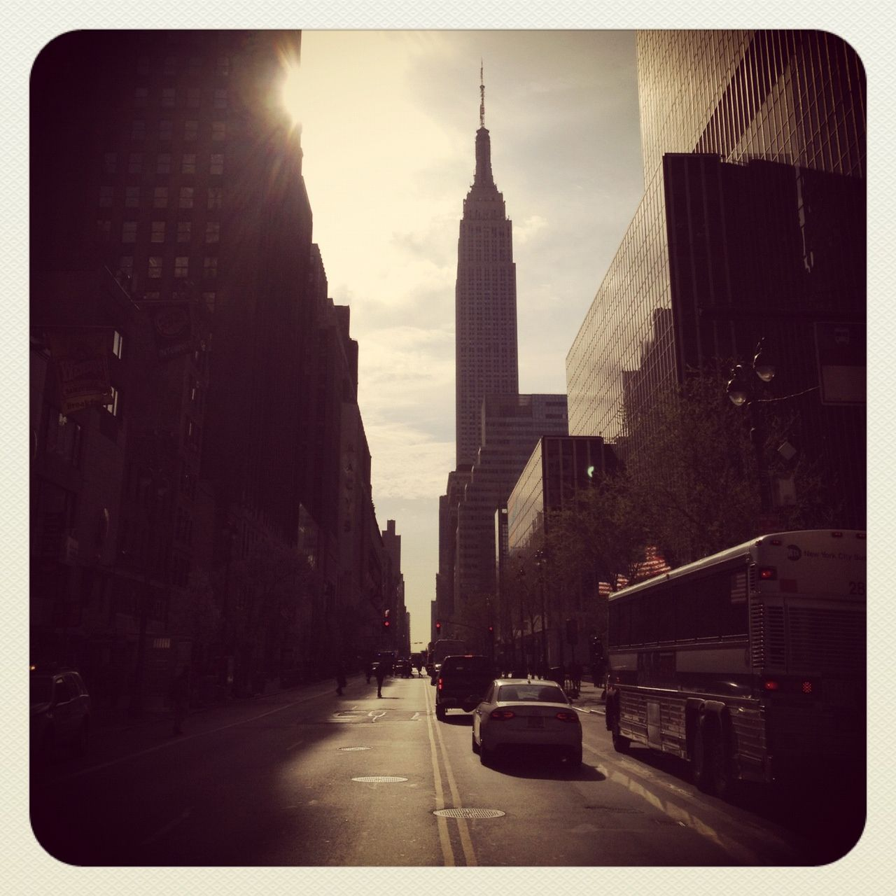 empire state building. rg
