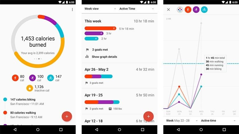 Google Fit Review Fitness Meilleures Applications Applications