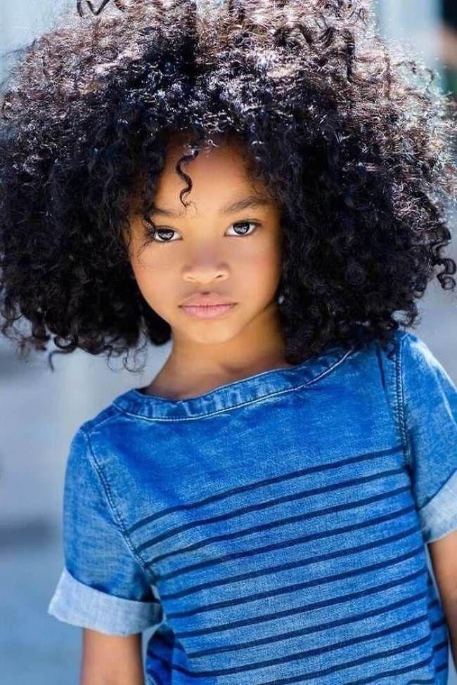 Peinados Afro Nina