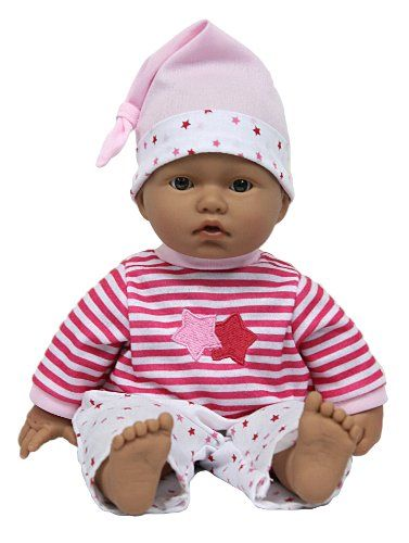 JC Toys La Baby 11-Inch Hispanic - List price: $11.99 Price: $11.24 Saving: $0.75 (6%) + Free Shipping