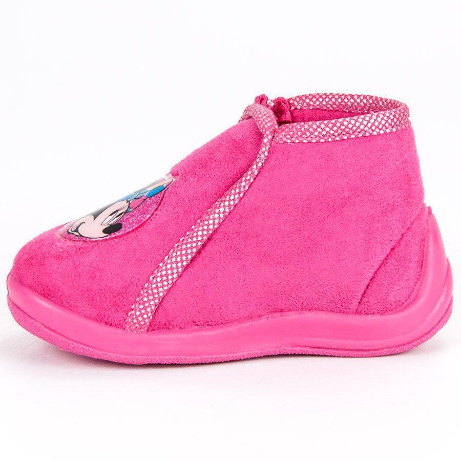 Kapcie Dzieciece Dla Dzieci Butymodne Rozowe Kapcie Na Suwak Myszka Miki Sneakers Fashion Shoes