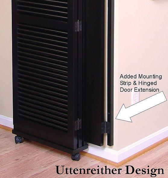 Door Separator Room Separator Ideas: Fasten Room Divider To Wall