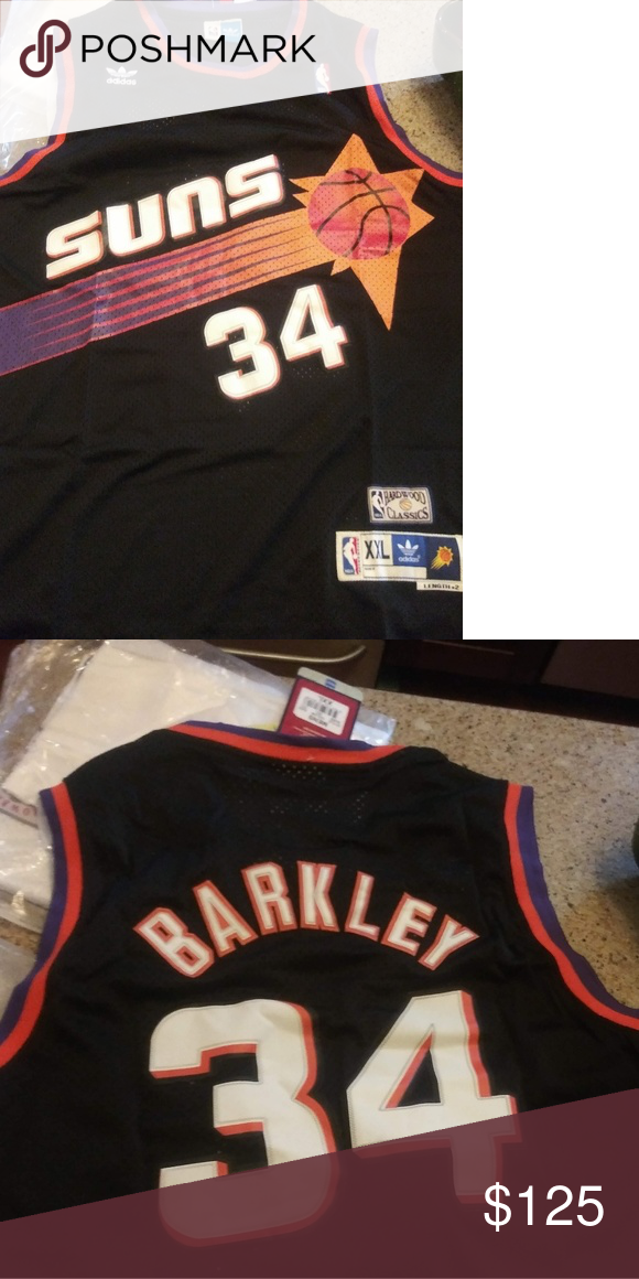 huge discount 66598 5d48c Adidas Charles Barkley Phoenix Suns Jersey New with tags ...