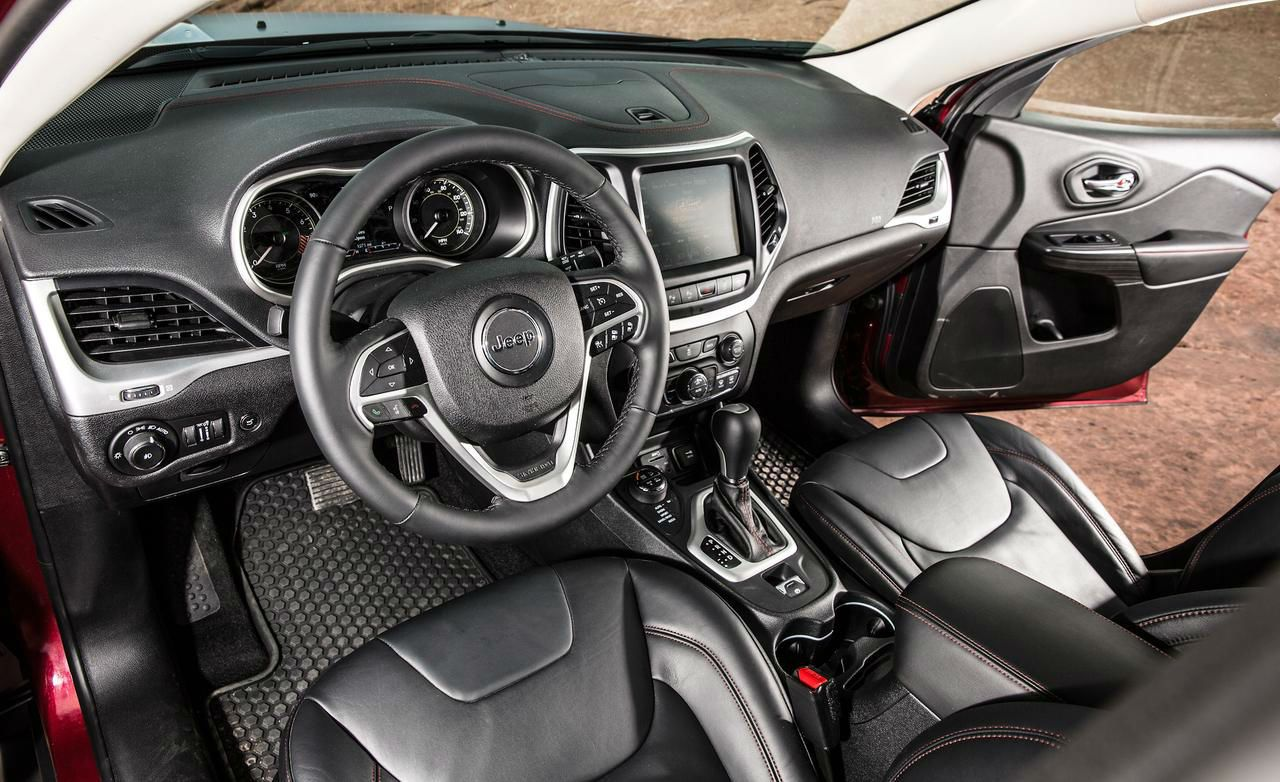 2014 Jeep Cherokee Trailhawk Interior Jeep Cherokee Trailhawk