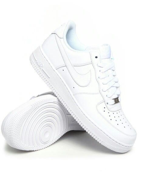 nike air force 1 low all white womens tennis shoes