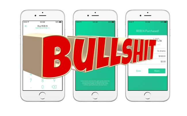 Robinhood Investing App Secretly Makes Millions Selling