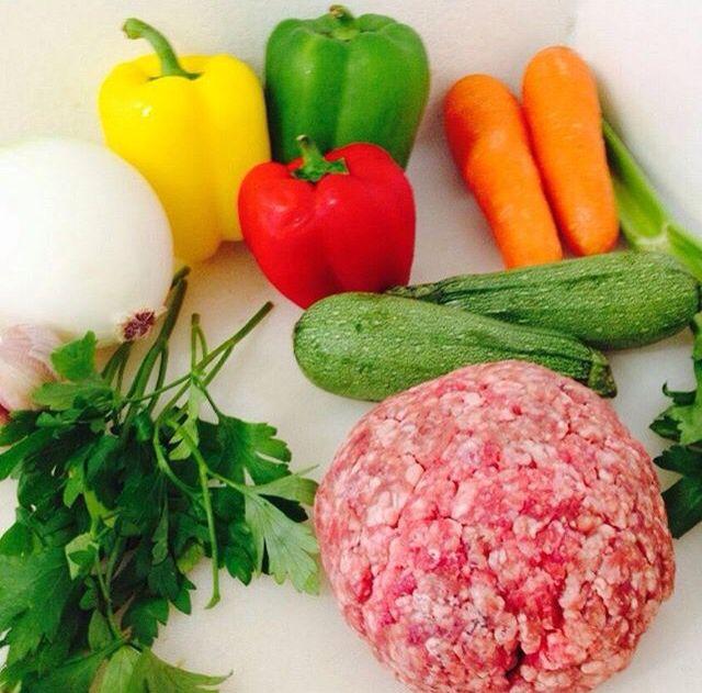 Ingredientes de cocina de fusión ayf