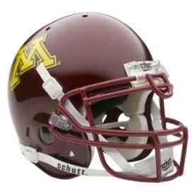 Minnesota Golden Gophers Football Game Helmet College Football Helmets Football Helmets Minnesota Football