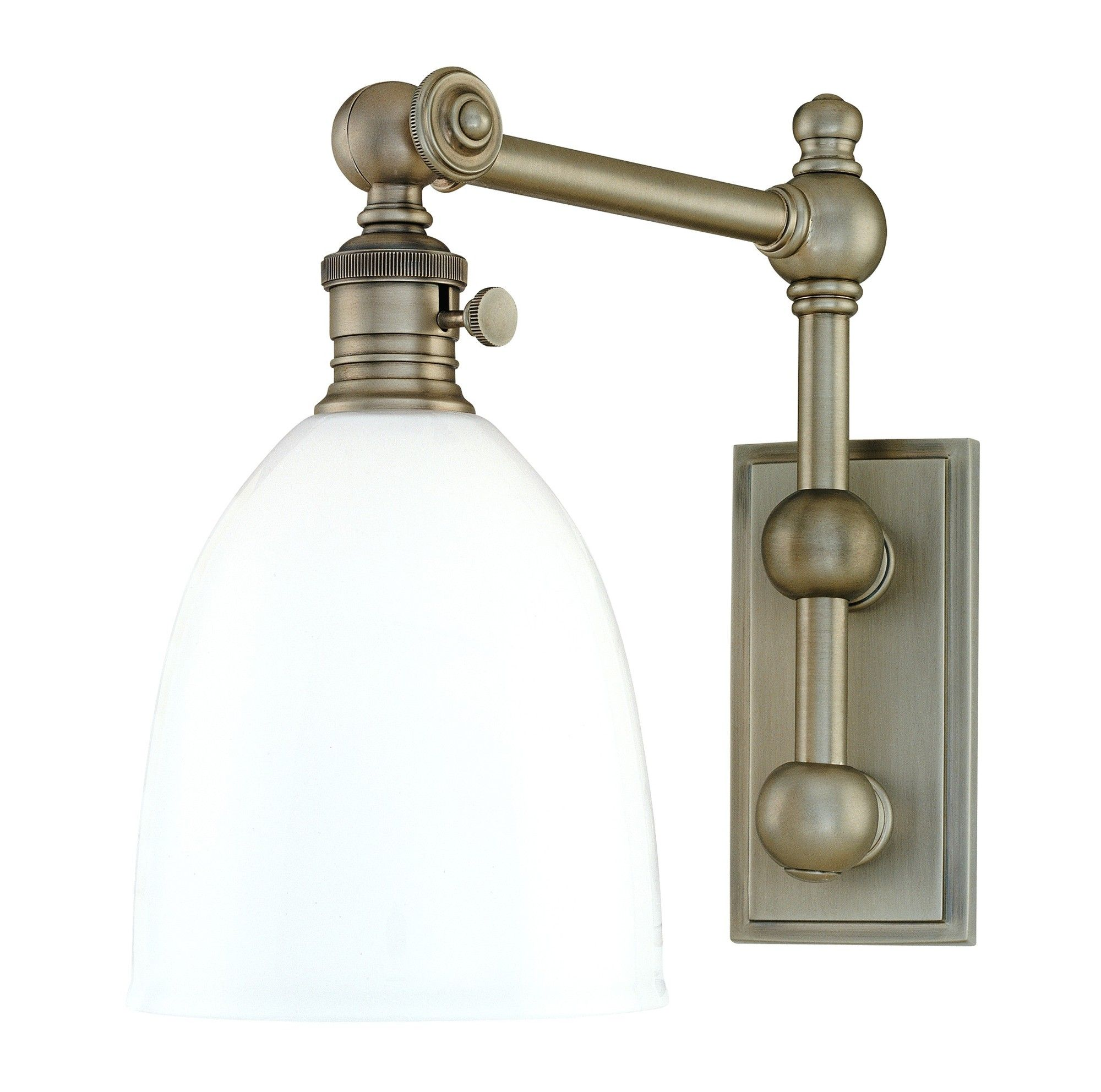 Monroe Swing Arm Wall Lamp Wayfair kitchen inspiration Pinterest More Swing arm wall ...