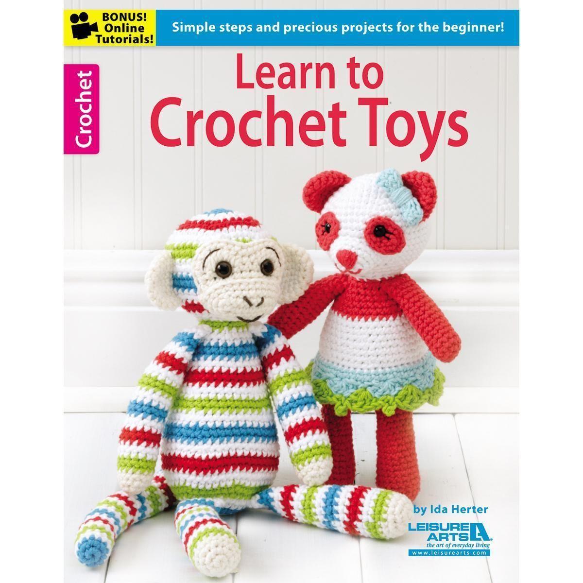 Leisure Arts - Learn To Crochet Toys | muñecas | Pinterest | Muñecas
