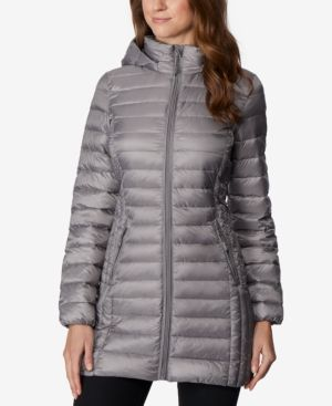 d0dbce3a553 32 Degrees Hooded Packable Down Puffer Coat - Black XS