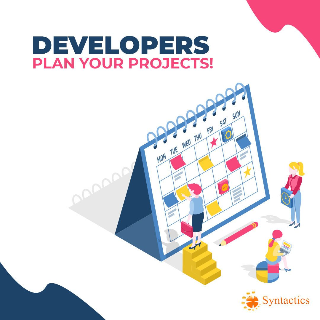 Developer pro tip plan your projects just because you