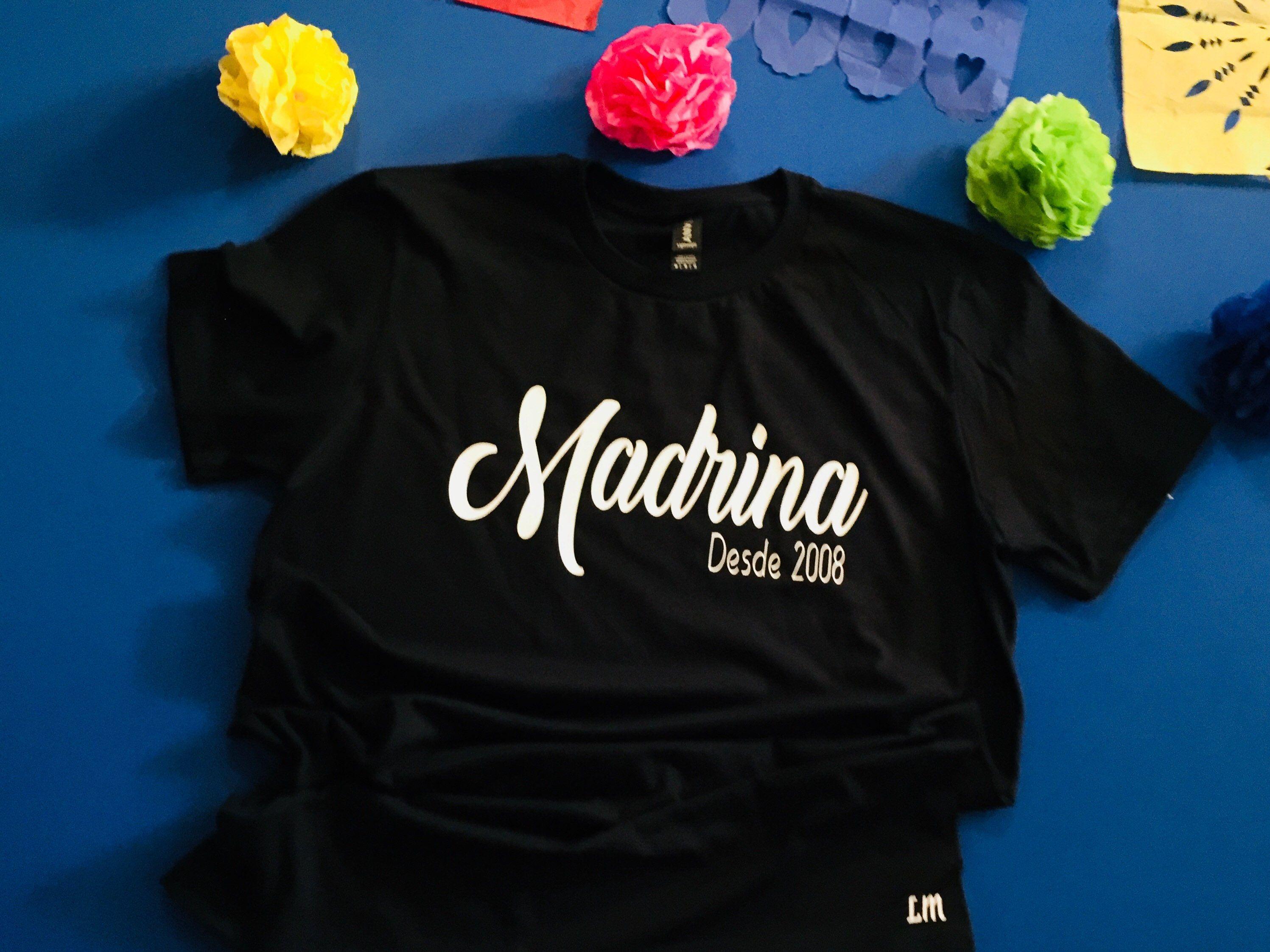 e9e2a6653a77c Mexican shirt,La Madrina shirt, Madrina, Padrino, Bautizo, Boda ...