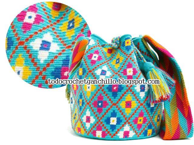 mochila wayuu | Wayuu | Pinterest | Mochilas wayuu, Mochilas y Bolsos