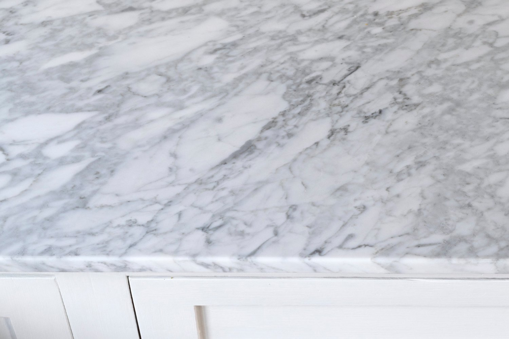 Farmhouse Kitchen What Our Diy Marble Countertops Cost The
