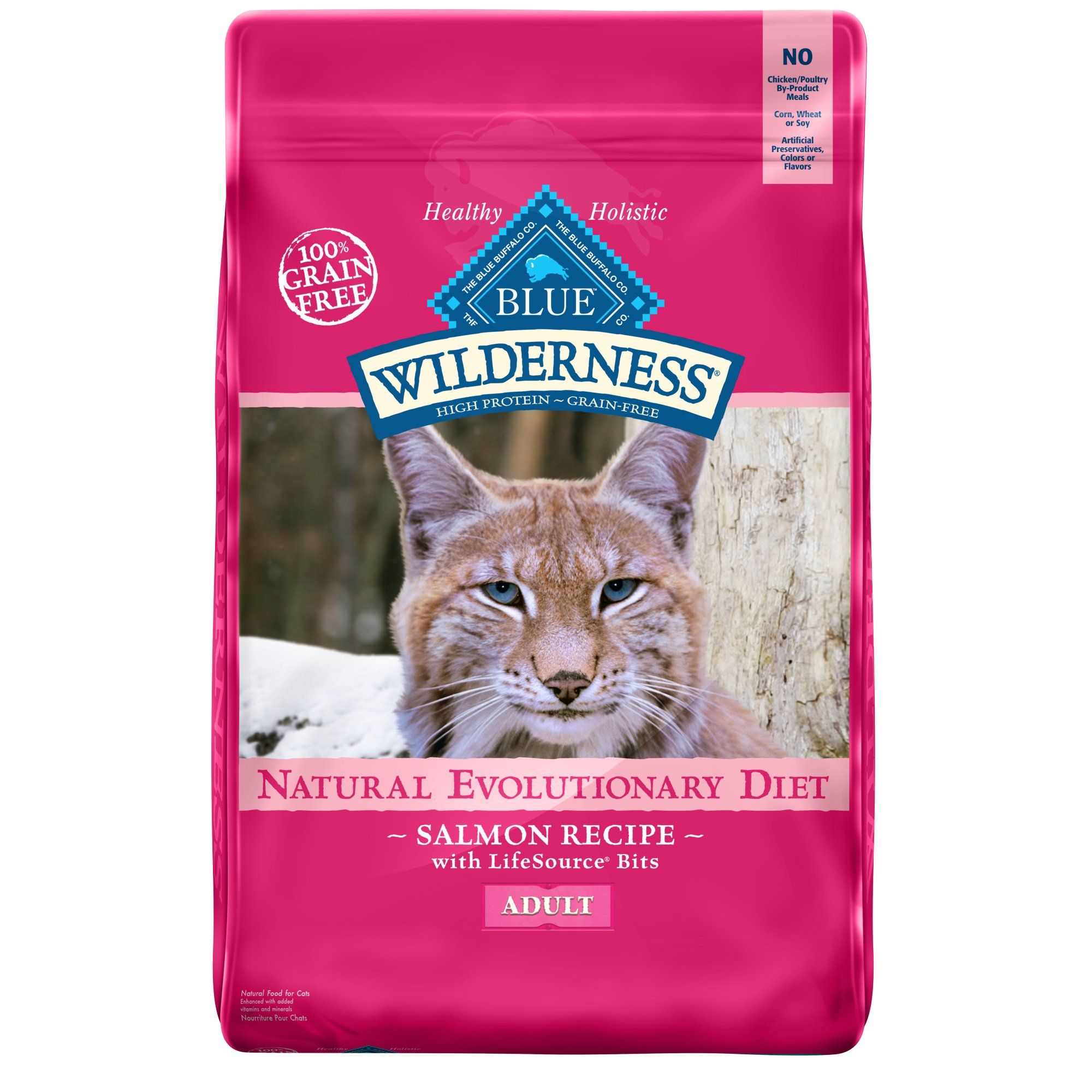 Blue Buffalo Blue Wilderness Adult Salmon Recipe Dry Cat Food 11 Lbs Petco In 2020 Cat Food Dry Cat Food High Protein Cat Food