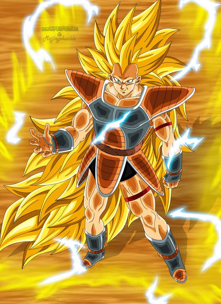 Raditz Ssj3 By Majingokuable Dragon Ball Artwork Anime Dragon Ball Super Dragon Ball Art
