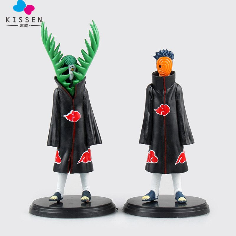 Naruto Akatsuki Tobi PVC Figure Toy New In Box 24cm