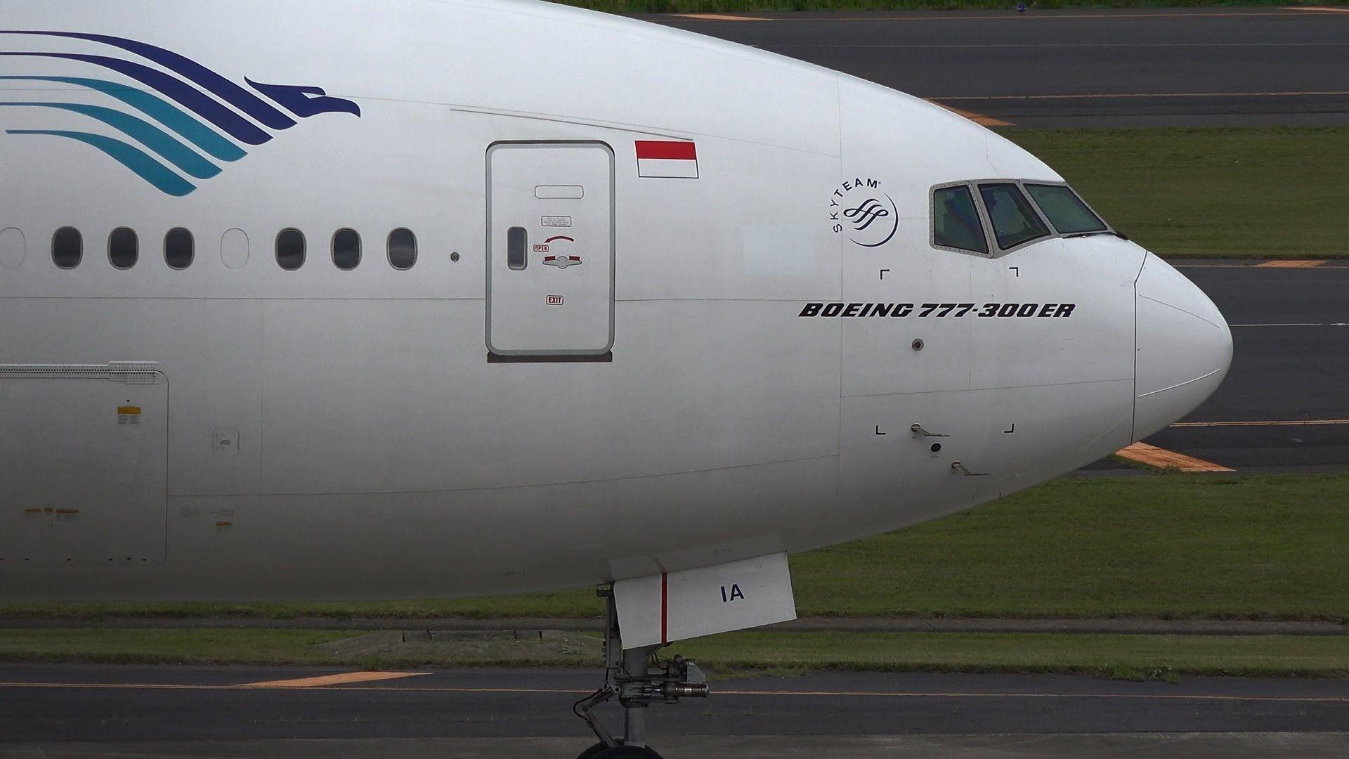 Garuda Indonesia Boeing 777300ER PKGIA [NRT/RJAA