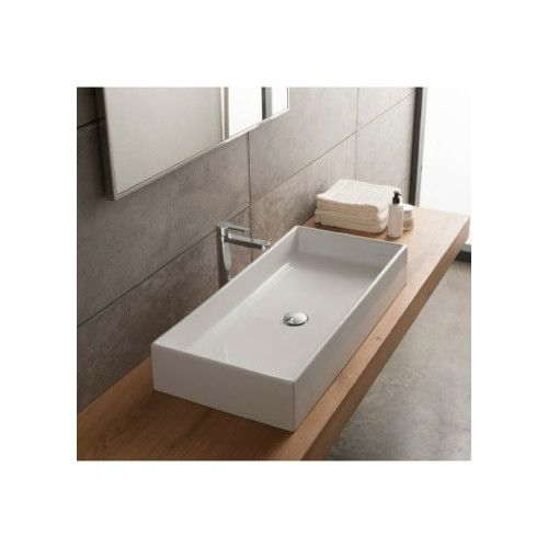 Found it at Wayfair - Teorema Ceramic Vessel Bathroom Sink