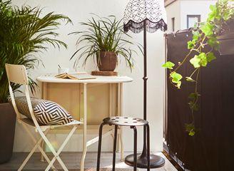 15x Eucalyptus Huis : Klein balkon inrichten met saltholmen bistroset balconies