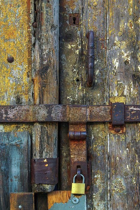 Metal Locks By Carlos Caetano Artwork Images Art Old Wooden Doors