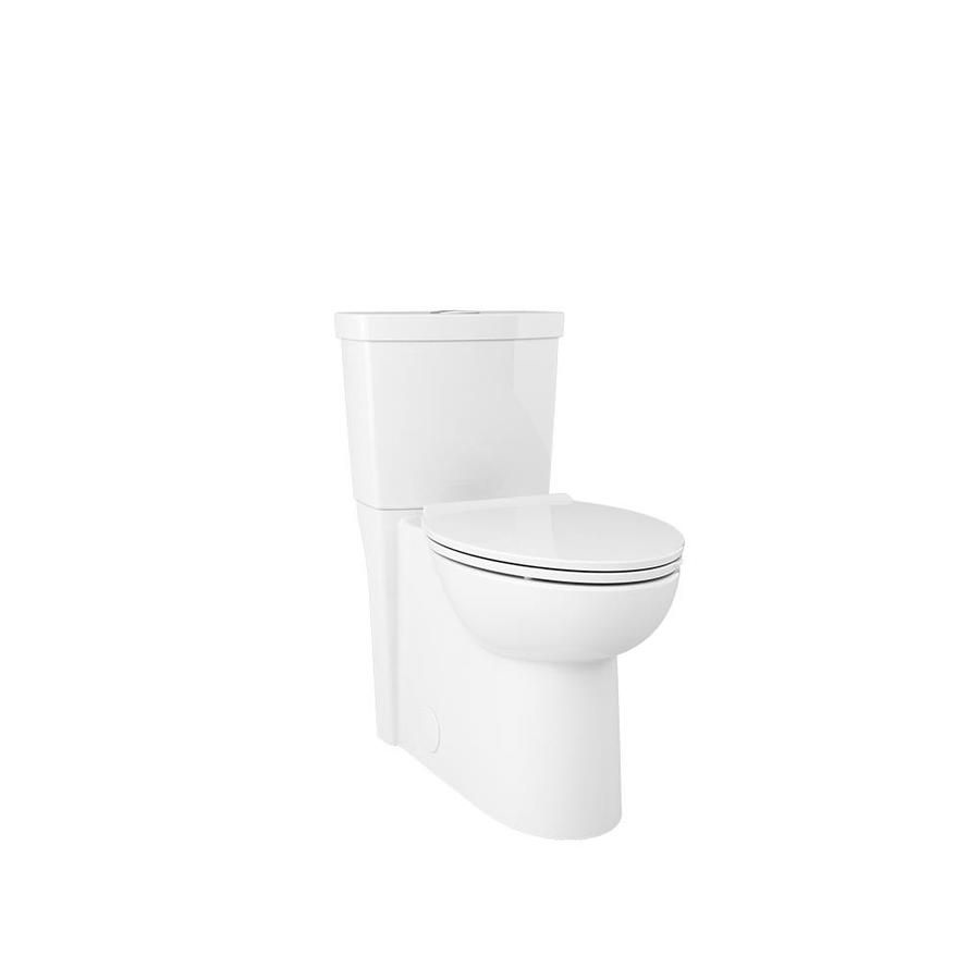 American Standard Clean White Watersense Labeled Dual Elongated Chair Height 2 Piece Toilet 12 In Rough In Size Water Sense Chair Height American Standard