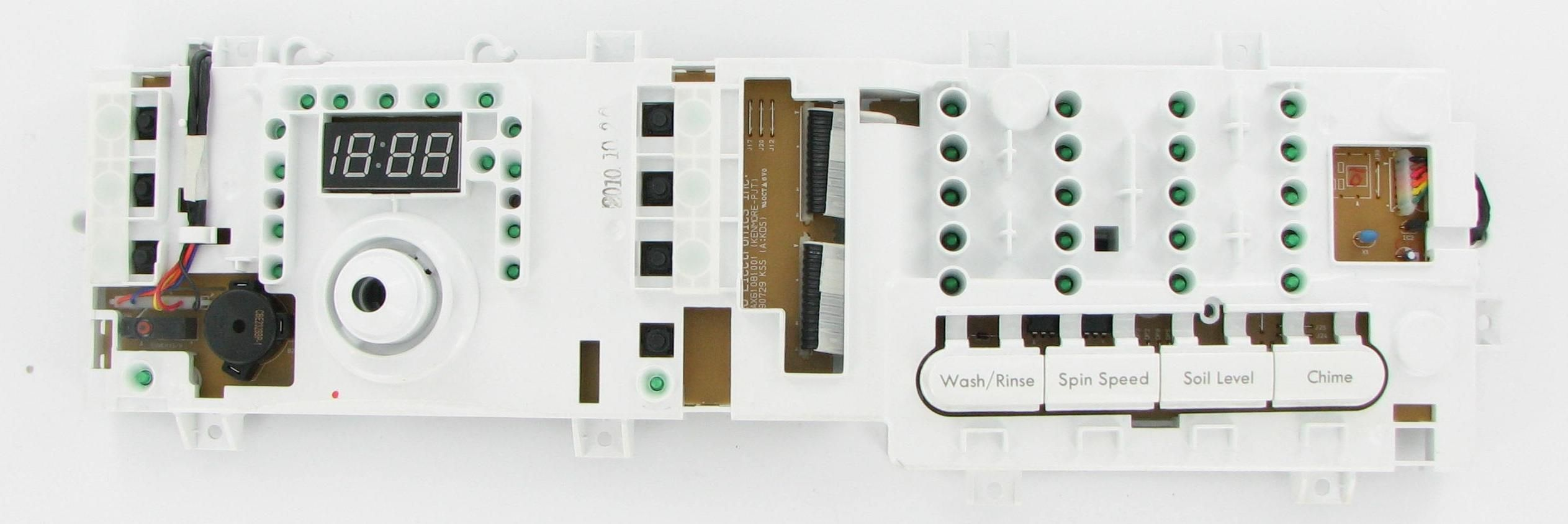 Lg ebr laundry washer pcb assembly board