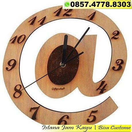 Jam Dinding Kayu Classic Jual Jam Dinding Kayu Murah Bandung 0857 4778 8303 Jam Dinding Kayu Classic Jual Jam Dinding K Diy Clock Wall Wood Wall Clock Clock