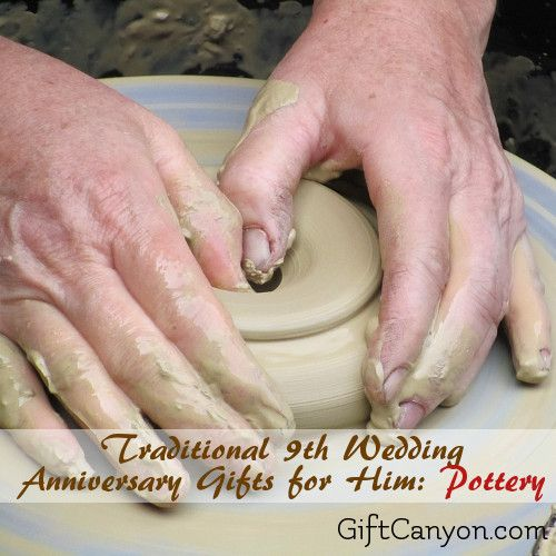 9th Year Pottery Wedding Anniversary Gifts For Him Anniversary