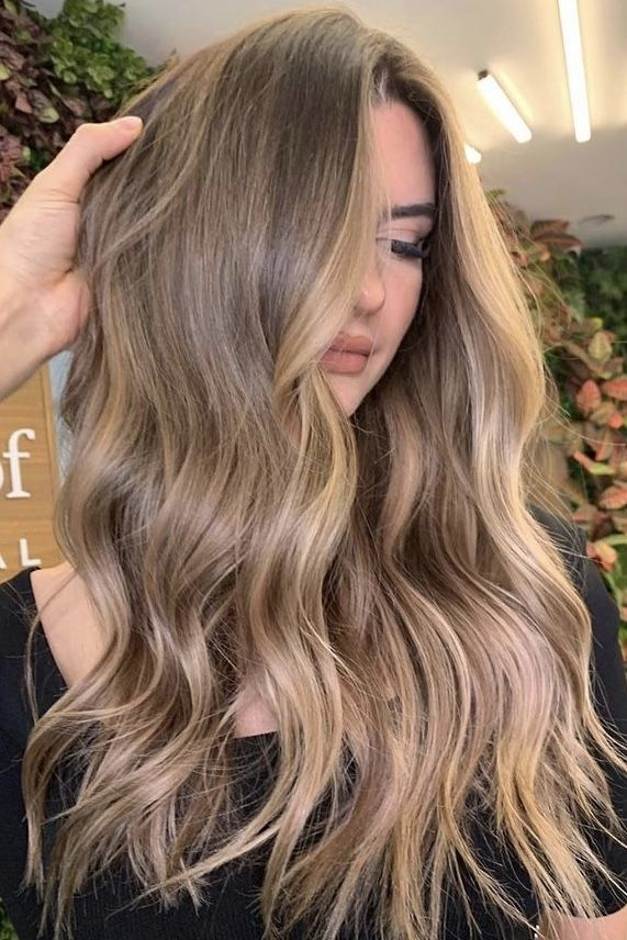 40+Bombshell Balayage Hair Color Ideas