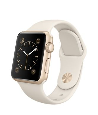 d0fe4db1f88 Apple Watch Sport - 38mm Gold Aluminum Case with Antique White Sport Band -  Apple