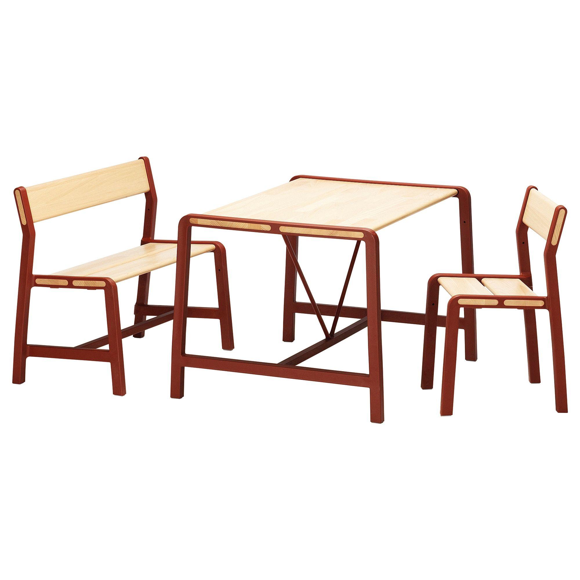Ypperlig Kindertisch Mit Bank Und Stuhl Ikea Deutschland Kindertafel Kindermeubelen Stoel Ikea