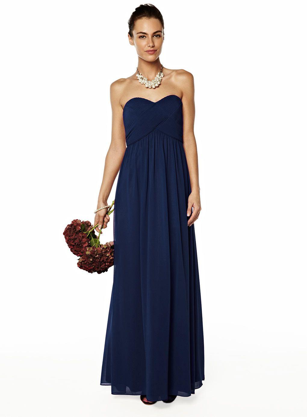 Bhs bandaue dress with optional straps wedding pinterest