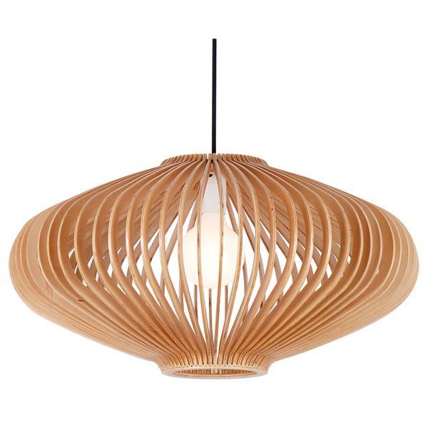 Wooden Pendant Lamp Outdoor Lighting Zhongshan Wood Lamp