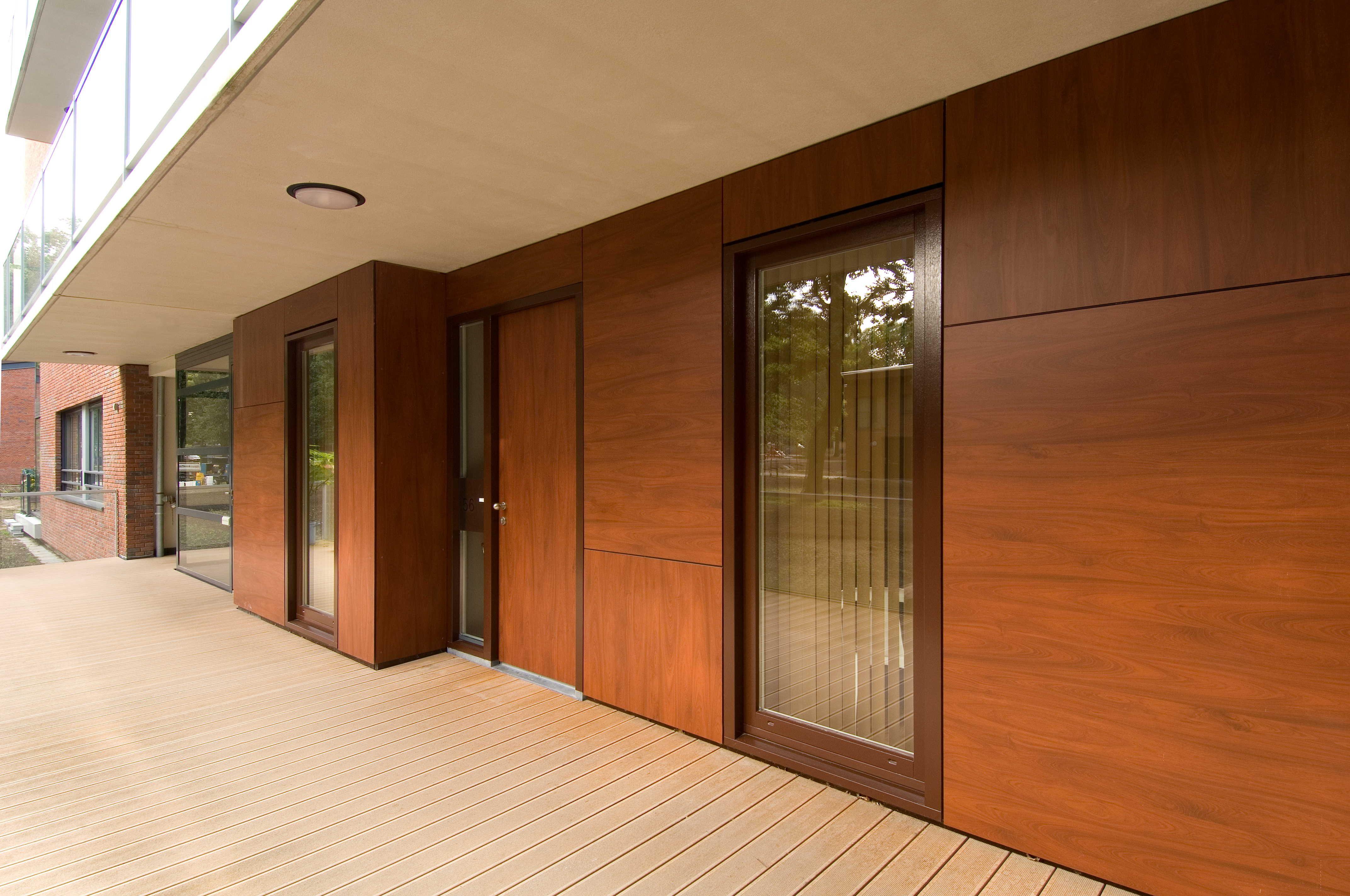 Tussen De Lanen Complex In Doorwerth Netherlands Trespa Meteon Wood Decors Pinterest