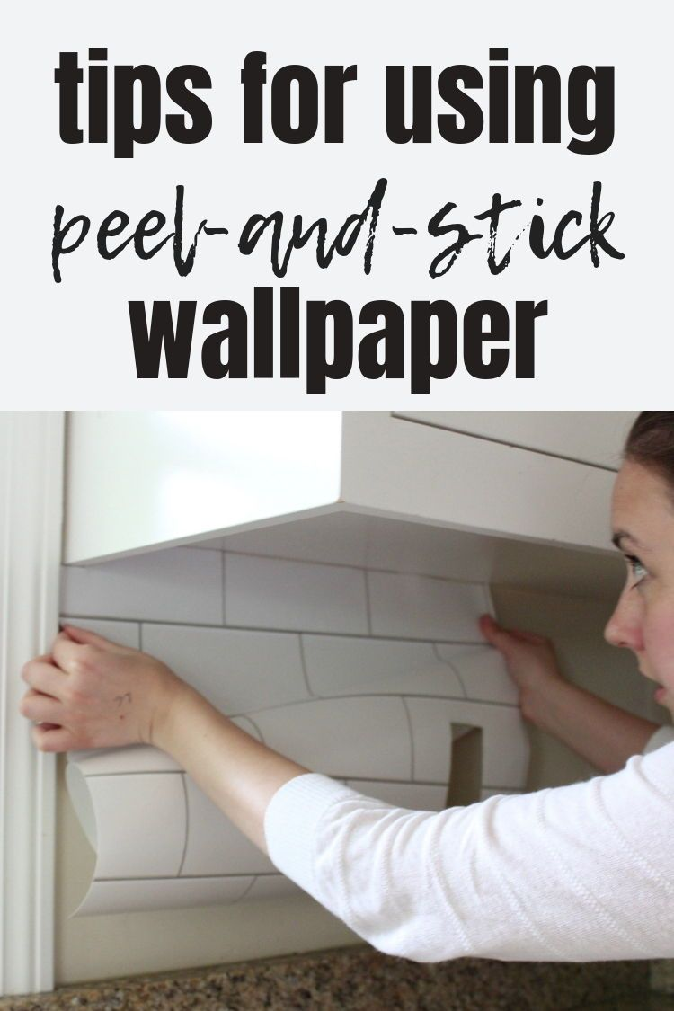 Tips For Using Peel And Stick Wallpaper Peel And Stick Wallpaper Temporary Wallpaper Ship Lap Walls