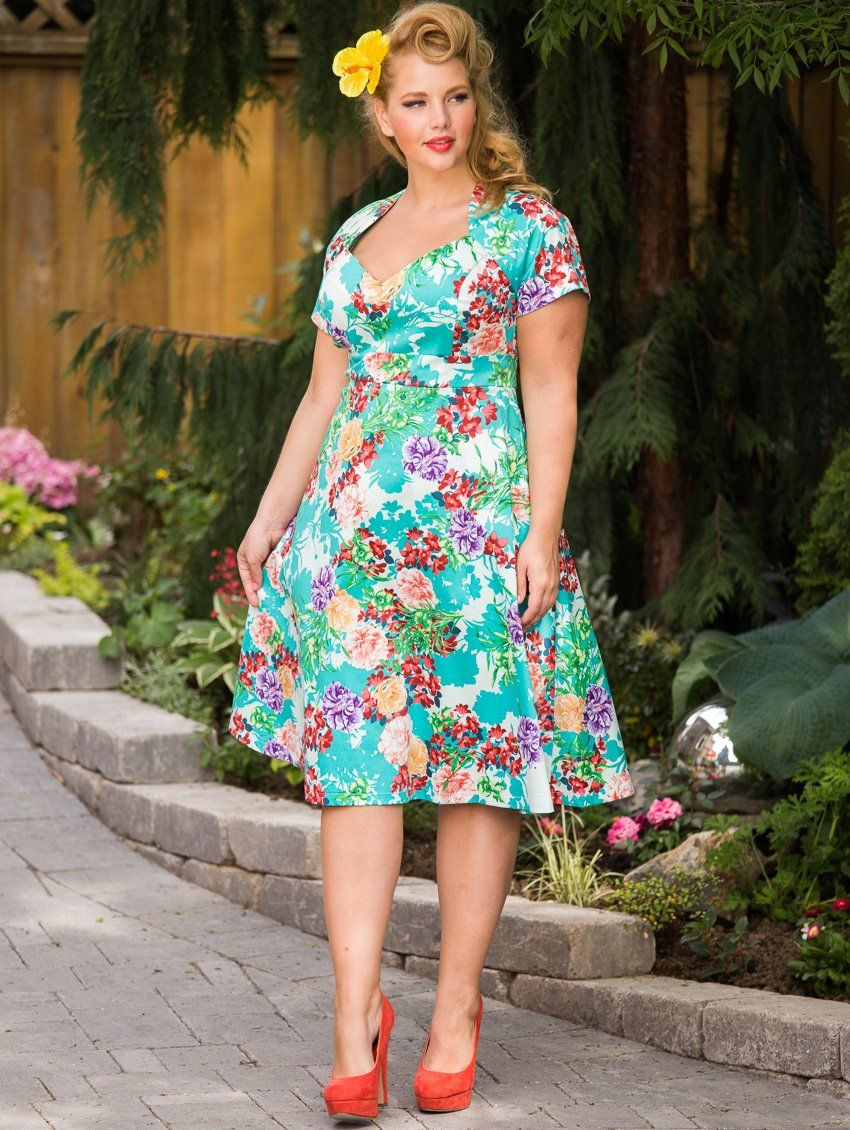 The stunning Elly Mayday for www.lucyclothing.ca The Sabrina Dress, Spring 2013!