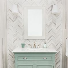 Image Result For Zebrino Mosaic Chevron Tile Kitchen Back Splash Chevron Tile Vanity Backsplash Chevron Bathroom