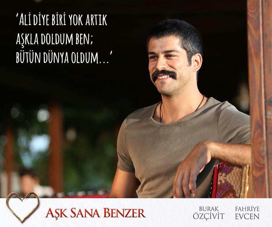 Fahriye Evcen Burak Ozcivit Ask Sana Benzer Burak Ozcivit New Love Turkish Film