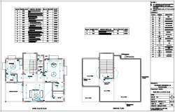 Floor Plan Electrical View Of Bungalows Dwg File Block In 2018