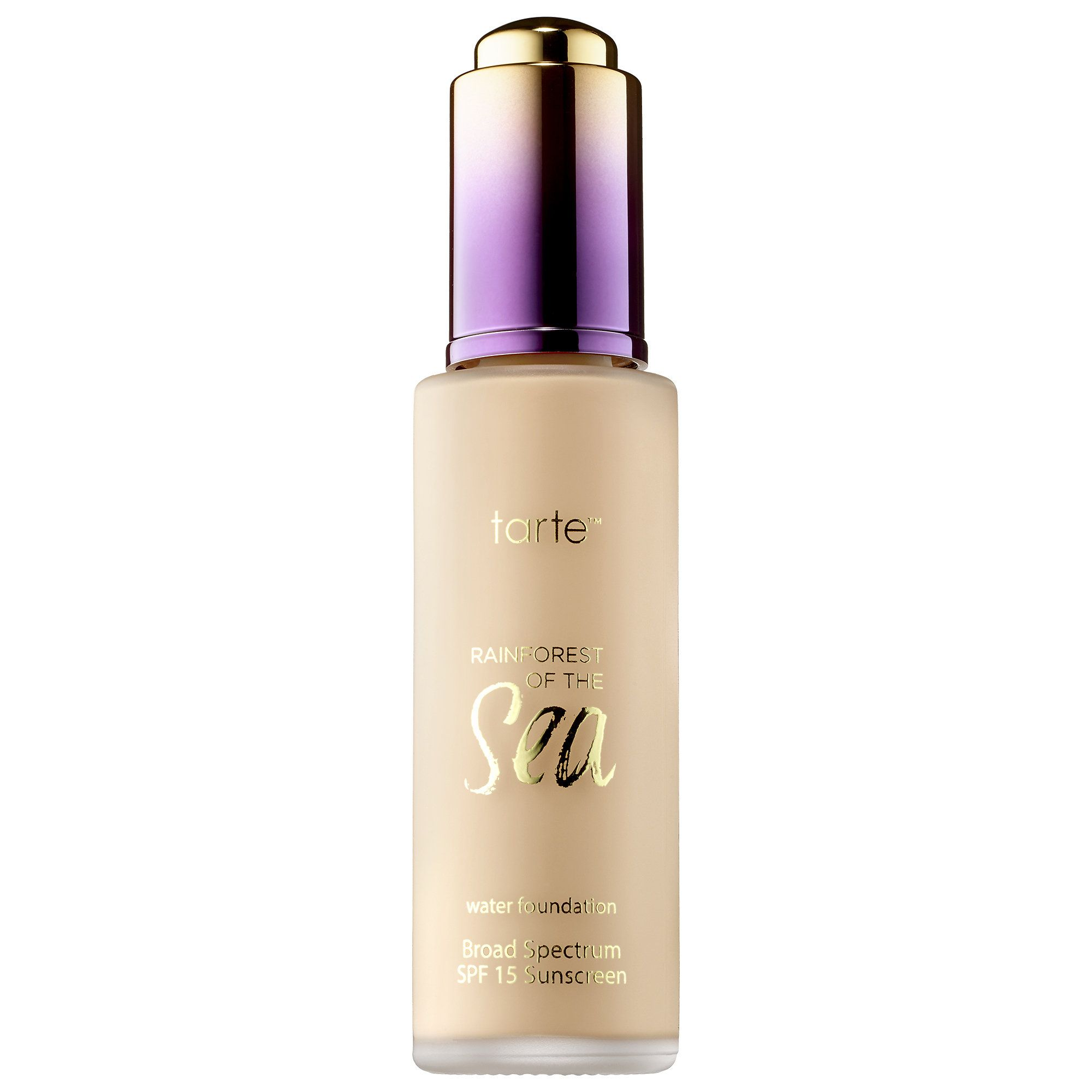 Water Foundation Broad Spectrum SPF 15 Rainforest of the