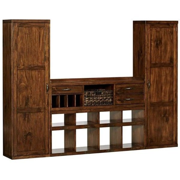 pottery barn entryway furniture. Pottery Barn Olivia 4-Piece Entryway System (2 Towers ($1,957) ❤ Liked Furniture