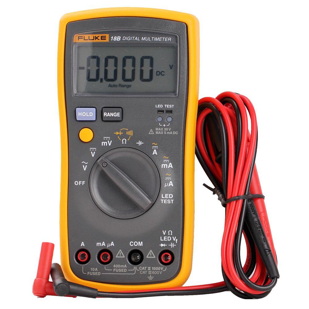 Fluke18b Digital Multimeter Pocket Multimeter Fluke Multimeter Shipping F18b Instead Of F18b Fluke Multimeter Multimeter Diy Electronics Ac Dc Voltage