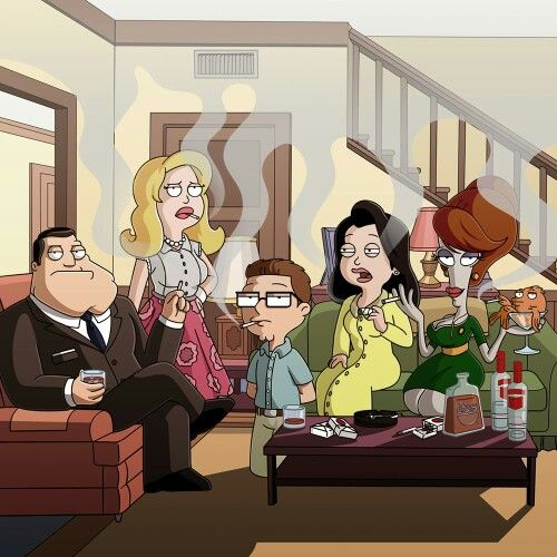 The Smith Family Roger As Joan Love It American Dad American