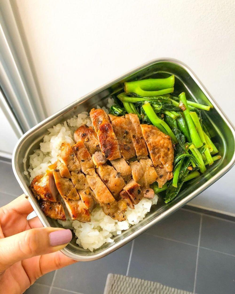Bekal Makan Siang Berbagai Sumber Makanan Makan Siang Resep