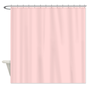 Light Pink Solid Shower Curtain By The Shower Curtain Pink Shower Curtains Light Pink Bedding Shower